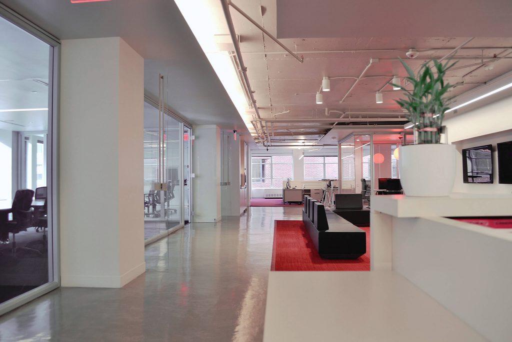 weatherbug office interior