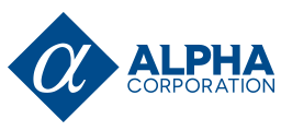 alpha corporation logo