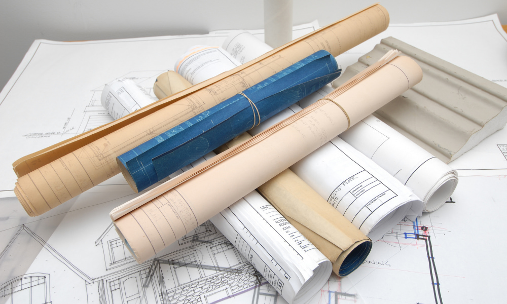commercial office fit out construction plan