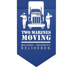 Two Marines Moving logo | Commercial Real Estate Services From The Genau Group